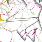 Ilustración colorido abstracto — Vector de stock