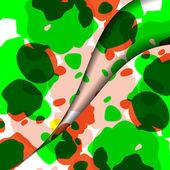 Abstrakt färgrik illustration — Stockvektor