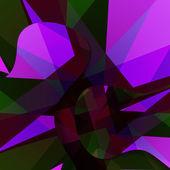 Abstraktní temný obrys obrázku. — Stock vektor
