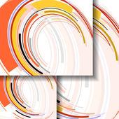 Abstracte kleurrijke illustratie — Stockvector