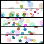 Abstract circles illustration — Stock Vector