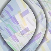 Abstrakte Komposition Abbildung — Stockvektor