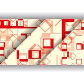 Abbildung abstrakt geometrische form — Stockvektor