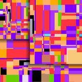 Soyut renkli resimde — Stok Vektör