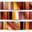 Abstract banner for your design — Imagens vectoriais em stock