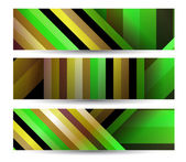 Abstract banner for your design — Vector de stock