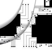 Kretskort illustration — Stockvektor