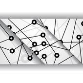 Printplaat illustratie — Stockvector