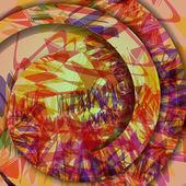 Colorful zigzag background — ストックベクタ