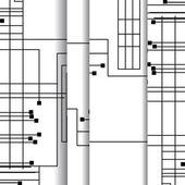 Platine abbildung — Stockvektor
