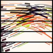 あなたの設計のための抽象的なバナー — ストックベクタ