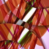 Abstraktní barevné ilustrace — Stock vektor