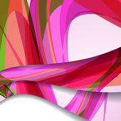 Abstrakt färgrik illustration. — Stockvektor