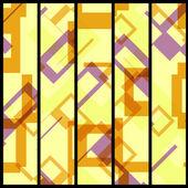您设计的的抽象横幅 — 图库矢量图片
