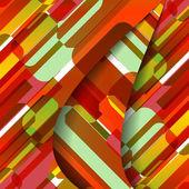 Abstraktní textury ilustrace — Stock vektor