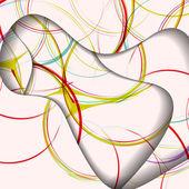 Abstract swirl illustration — Vettoriale Stock