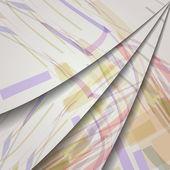 Abstract geometric shape illustration — Stock Vector