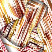 Abstracte compositie illustratie — Stockvector