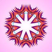 Abstract illustration, swirl background — Stock Vector