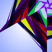 абстрактный рисунок, красочный фон — Cтоковый вектор