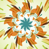 Abstract illustration, colored twirl — Vector de stock