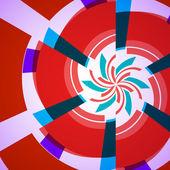 абстрактная иллюстрация, вихрем фон — Cтоковый вектор