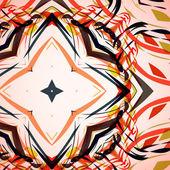 Abstracte illustratie, kleurrijke swirly achtergrond — Stockvector