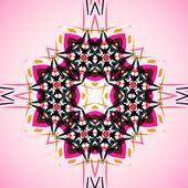 抽象的插图,多彩的纠结背景 — 图库矢量图片