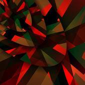 Ilustração abstrata forma escura — Vetor de Stock