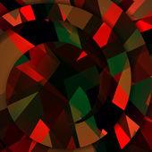 Abstrakcyjny kształt ciemny ilustracja — Wektor stockowy