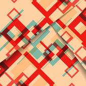 Иллюстрация абстрактной геометрической формы — Cтоковый вектор