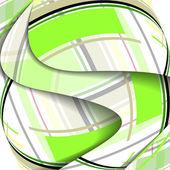 Composición abstracta ilustración — Vector de stock