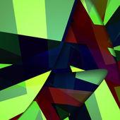 Abstraktní temný obrys obrázku — Stock vektor