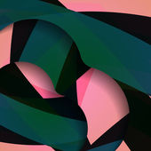 Abstract dark shape illustration — Stock Vector