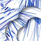 抽象的线条图案 — 图库矢量图片