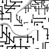 Ilustración de circuito — Vector de stock