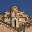 Detail of the dome of the Collegiate of Toro, Zamora — Stock Photo