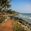 Stock Photo: Edawbeach, Kerala, India