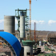 Royalty-Free Stock Photo: Construction of cement factory