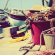 Stock Photo: Fishing harbor