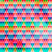 Triangular geometric pattern. Of different color with texture. — Cтоковый вектор