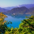 Lake Bled,Slovenia,Europe - Stock Photo