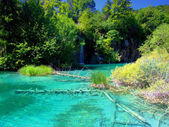 Plitvice Lakes National Park,Croatia — Stock Photo