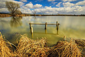 Lake in Transylvania,Romania — Stock Photo