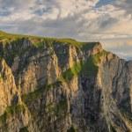 Majestic sunrise in the mountains,Bucegi mountains,Carpathians,Romania — Stock Photo #28618823