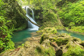 Beautiful Vaioaga waterfall,Beusnita Natural Park,Romania — Stock Photo