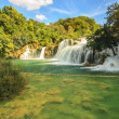 Waterfall Krka in Croatia,Europe — Stock Photo