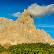Dolomite peaks,Cimon della Pala,Italy Alps — Stock Photo #44149023