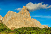 Dolomite peaks,Cimon della Pala,Italy Alps — Stock Photo