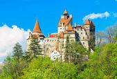 The famous Dracula castle,Bran,Transylvania,Romania — Stock Photo